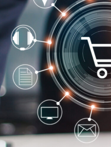 UNIORG Header: E-Commerce
