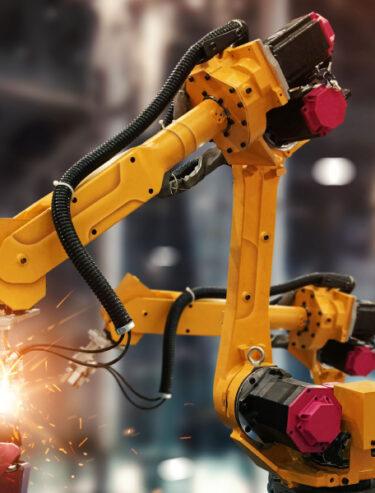 UNIORG Website Header: Branche Produktion und Fertigung