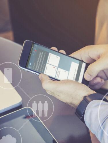 UNIORG Website Header: SAP Sales Cloud