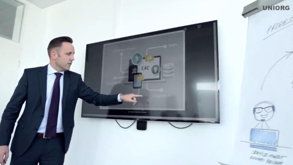 UNIORG SAP Sales Cloud mit UNIORG