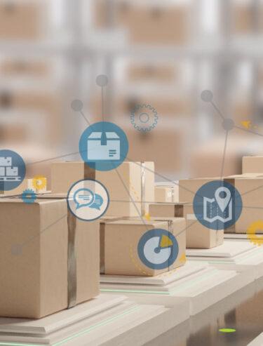 Header: UNIORG smart Logistics