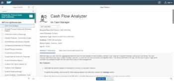 UNIORG Website: Screenshot SAP S/4HANA Fiori Reference Library